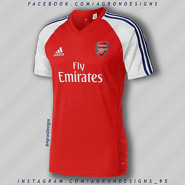 Adidas Arsenal Home Kit Concept
