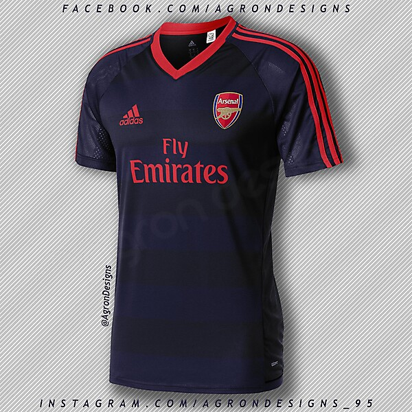 Adidas Arsenal Third Kit Concept