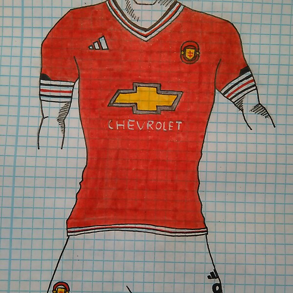 ADIDAS MANCHESTER UNITED HOME KIT