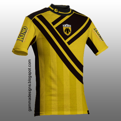 aek home + away