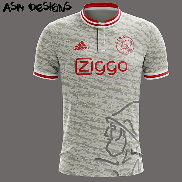 AFC Ajax Adidas Yeezy 2018 Home Kit