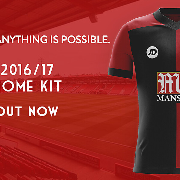 AFC Bournemouth Home Shrit 2016/17