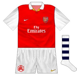 Arsenal 50s throwback set