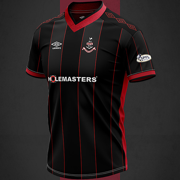 Airdrieonians Third 2020 Concept