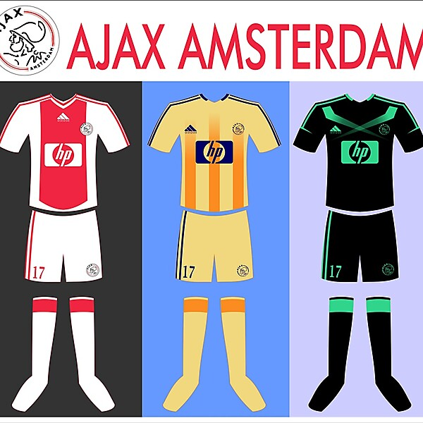 my kit design: Ajax