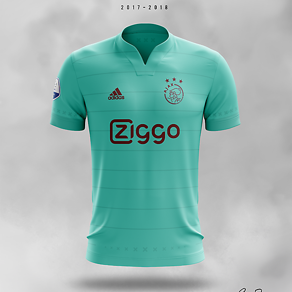 Ajax 2017/18 · Away Kit Concept