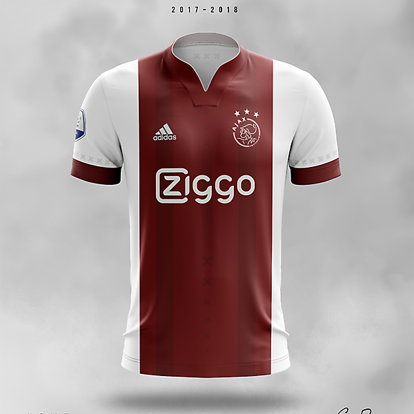 Ajax 2017/18 · Home Kit Concept