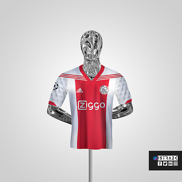 Ajax X Adidas - Home / UCL Edition