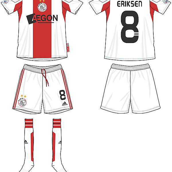 AFC Ajax Home Kit