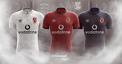 AL AHLY F.C - Football Concept Kit 2018/2019