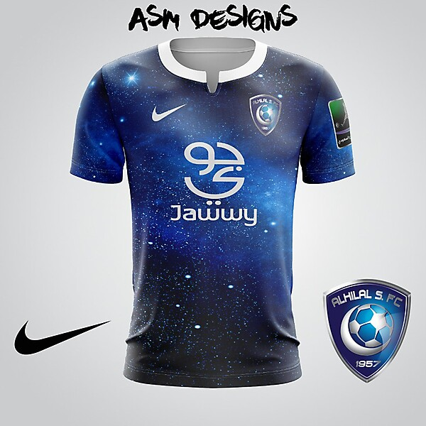 Al Hilal FC 2018 Nike Alternate Kit