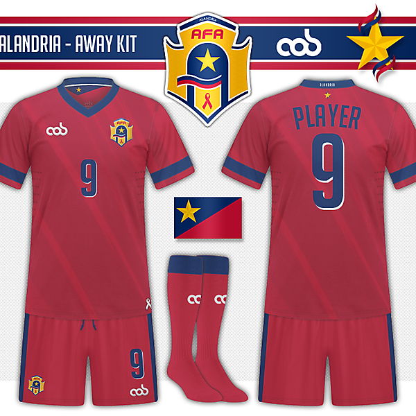 Alandria - Away Kit
