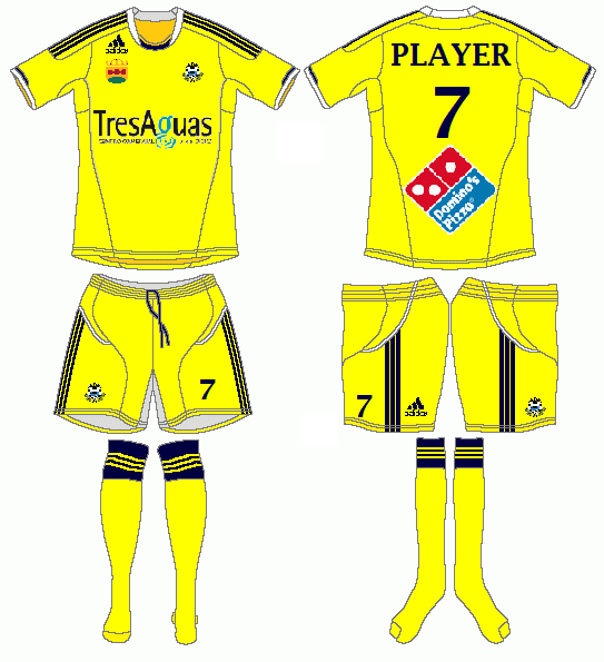 AD Alcorcon Adidas Home Kit
