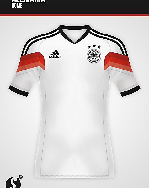 Concept - GERMANY 13/14  WORLD CUP HOME KIT DESIGN LEAKED