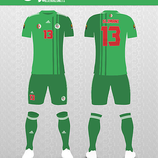 Algeria Away Kit