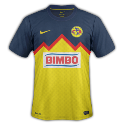 Club America Fantasy Kits with Nike