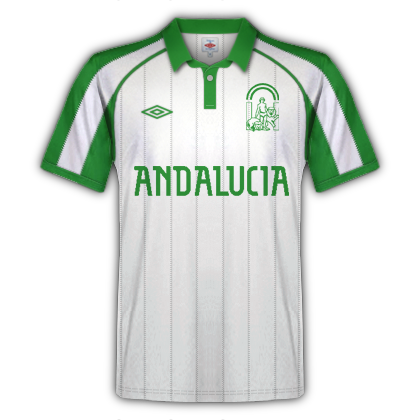 Andalusian national team fantasy kit home 90's