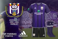 Anderlecht 2014-2015 Home Kit