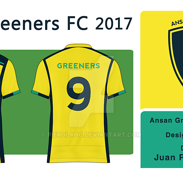 Ansan Greeners FC - Away