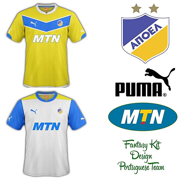 APOEL Home and Away Fantasy Kit 2014/2015
