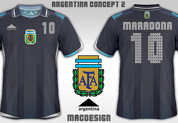New Argentina Home and Away 09/10
