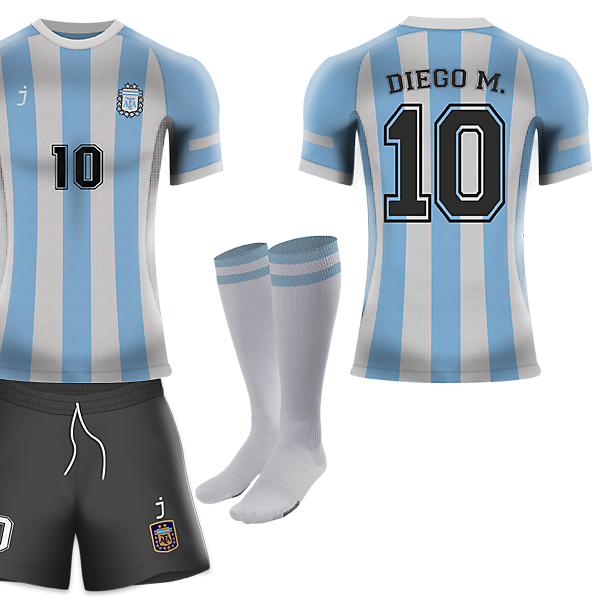 Argentina home kit - Fantasy J-sports