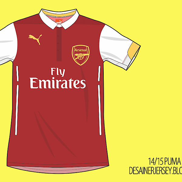 Arsenal 14/15 Puma Home Shirt