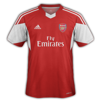 Arsenal fantasy kits with adidas