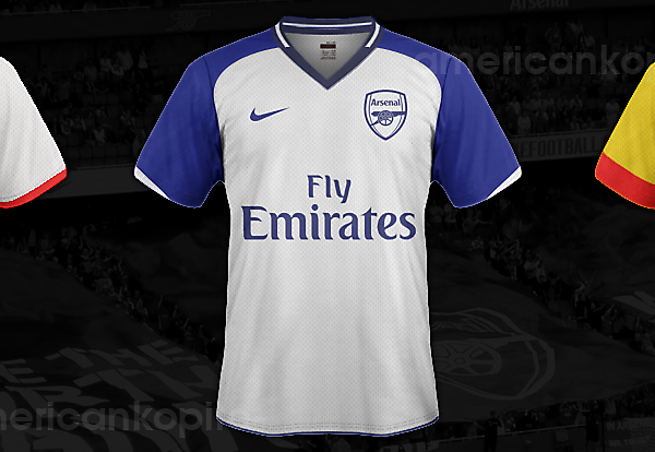 Arsenal Concept 2013/14 Kits