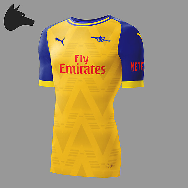 Arsenal away 19-19