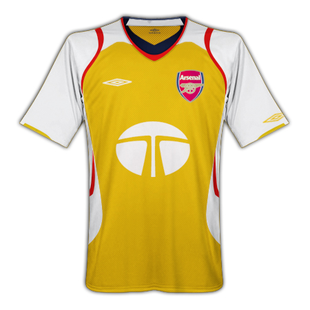 arsenal away umbro
