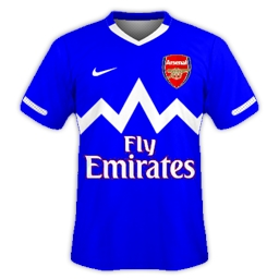 Arsenal Away 2012/13