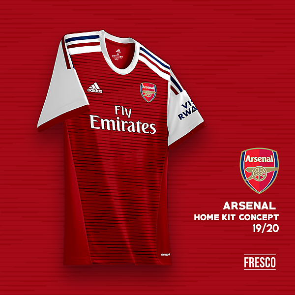 Arsenal Home Kit Concept