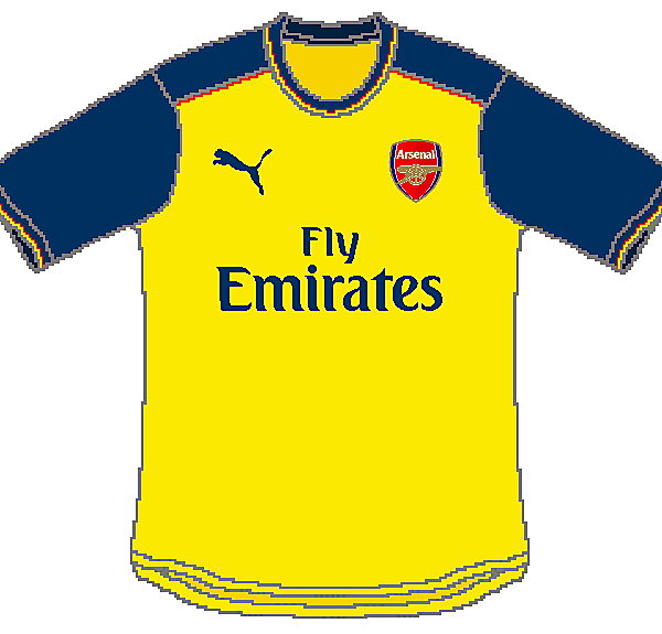 Arsenal Puma Home, Away and Third