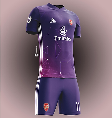 Arsenal Third Jersey Design