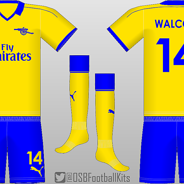 Arsenal Throwback 3rd Kit