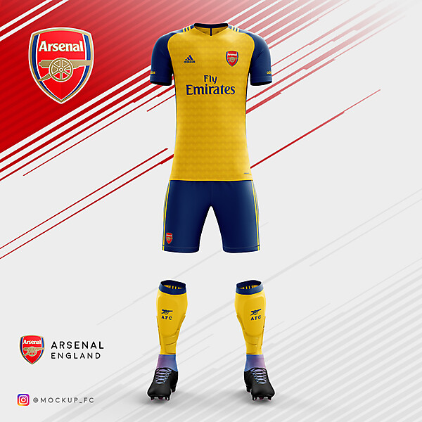 Arsenal x Adidas - Away Kit