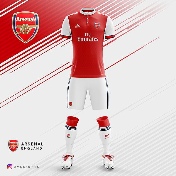 Arsenal x Adidas - Home Kit