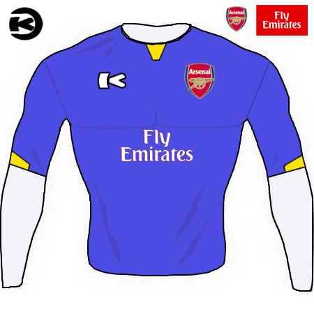 arsenal fc - keenan away