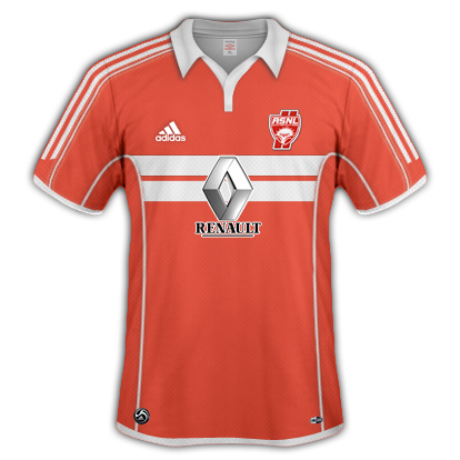AS Nancy 2010/11 Away Kit