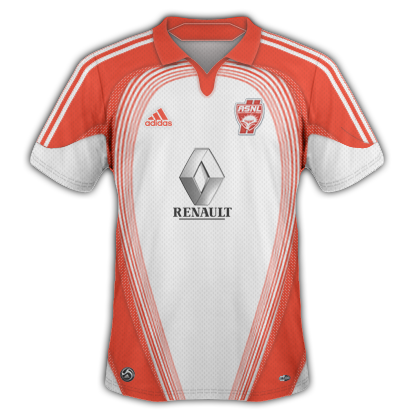 AS Nancy 2010/11 Home Kit No 2