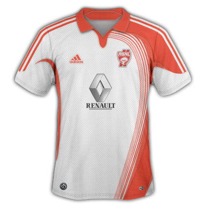 AS Nancy 2010/11 Home Kit