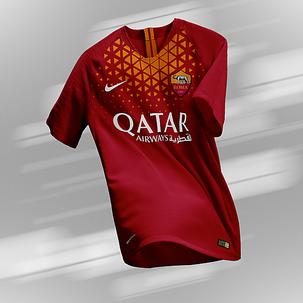 AS Roma - Home Kit