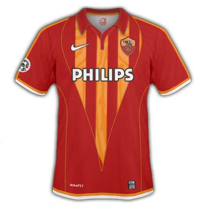 AS Roma Home Shirt 2010/11