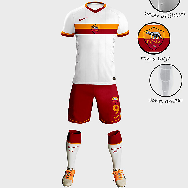 AS Roma Away Kit Design