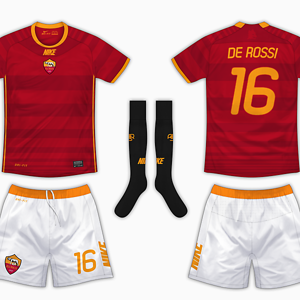 AS Roma Home Kit - Nike