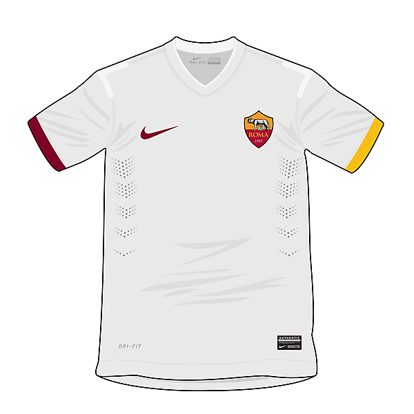 AS Roma Nike concept - Away shirt