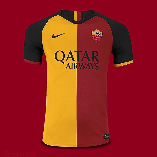AS Roma UCL Home Kit
