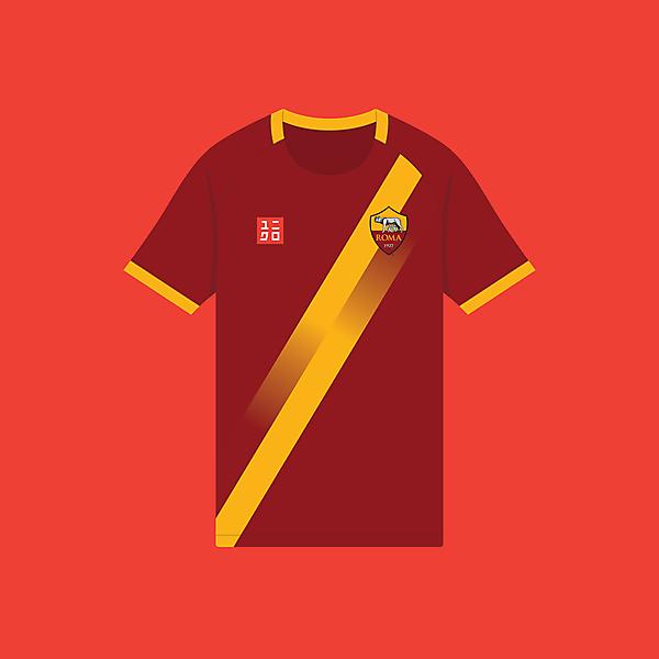 AS Roma x Uniqlo