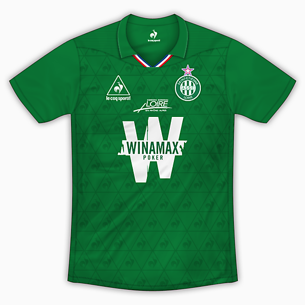 AS Saint-Etienne Home Shirt - Le Coq Sportif